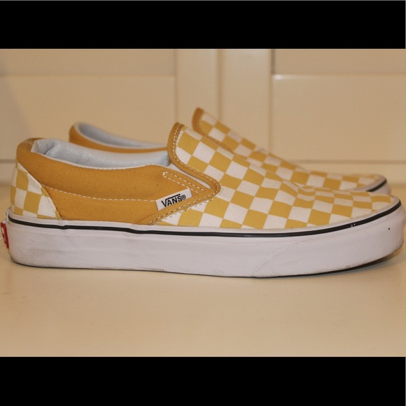 Get - slip on mustard vans - OFF 71
